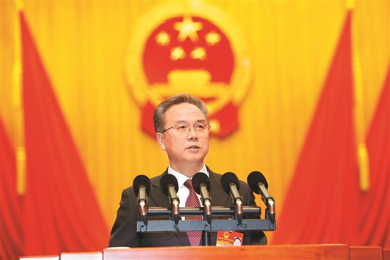 市十六届人大五次会议举行第二次大会